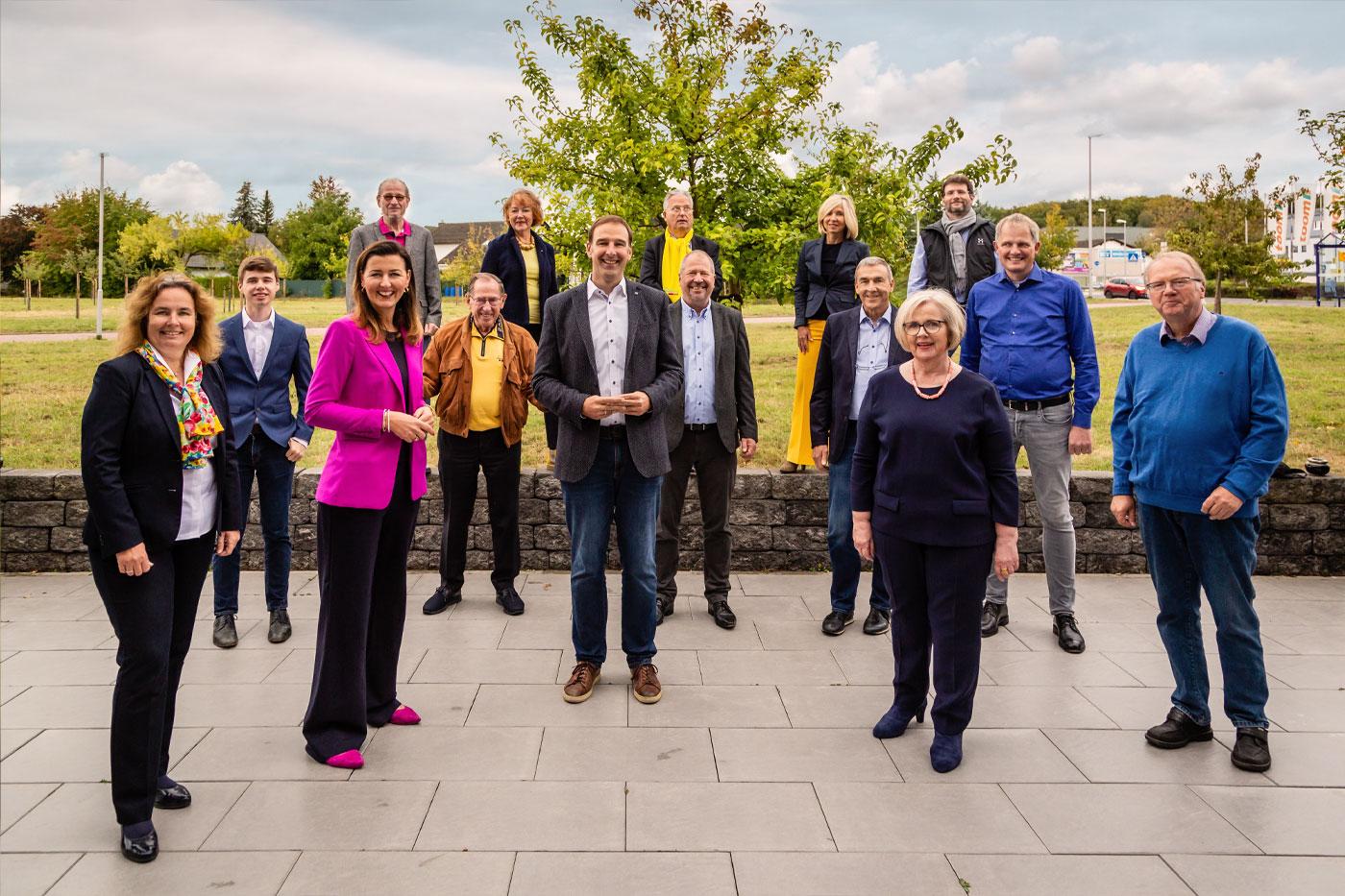 Teamfoto FDP Friedrichsdorf