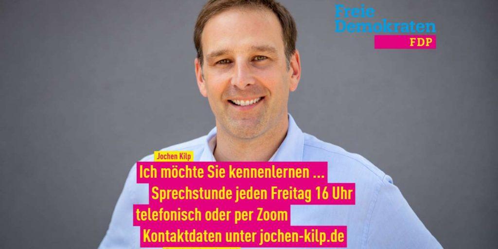 Foto Sprechstunde mit Jochen Kilp FDP Friedrichsdorf